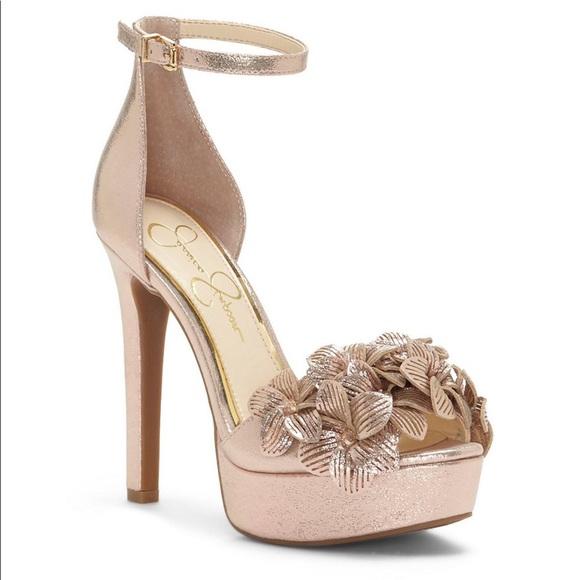 cf63a08b3f1 NWT Mayfaran 3D Laser Flowers Platform Sandals